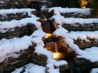 Winter Water Feature - Large Recreational Garden, St. Albans