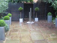 Courtyard Garden, Highgate