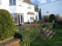 BEFORE - Country Garden, Bushey Heath