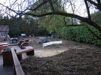 Before - Japanese Garden, Surrey Hills