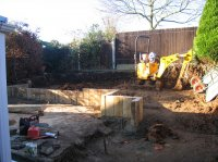Harpenden - Recreational Garden - DURING WORK