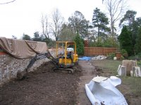 Before - Traditional Garden, Rickmansworth