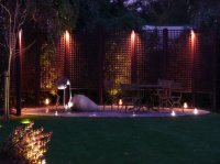 Patio Seating by Night - Recreational Garden - Chigwell
