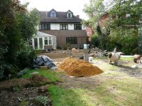 DURING WORK - Recreational Garden - Chigwell